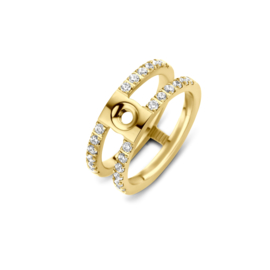 'Trista CZ' ring - Twisted