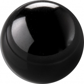 Black CZ ball