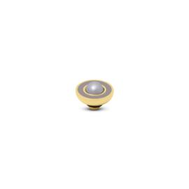 Vivid 'Resin Pearl' top - Taupe Beige