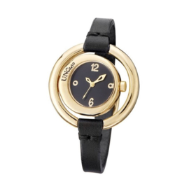 UNOde50 Horloge | TIME AFTER TIME  | GOUD