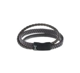 Iron Three String Brown-on-Black
