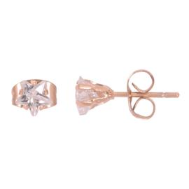 iXXXi Ear Studs Star Stone - Rosé