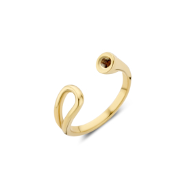 'Open loop' ring - Twisted
