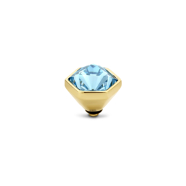 twisted Hexa Stone - Aquamarine