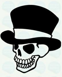auto sticker • skull