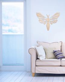 houten wanddecoratie • Origami Mot