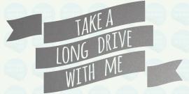 auto sticker • drive with me