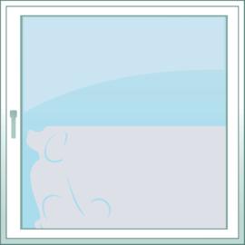 statische raamfolie  •  Waakhond