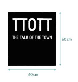 Sticker met TTOTT logo • 60 x 60 cm