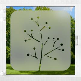 Raamfolie tegel • Botanisch • 4