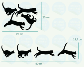 auto sticker • lopen kat