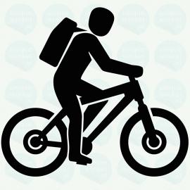 auto sticker • fietsen