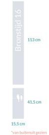 raamfolie op maat • Bronstijd 16