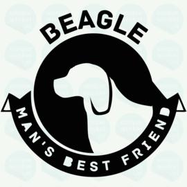 auto sticker • beagle best friend