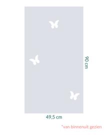 raamfolie op maat • Vlinders • 49,5 x 90 cm