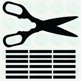 auto sticker • knippen