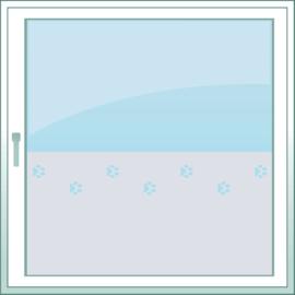 statische raamfolie  •  Hondenpootjes