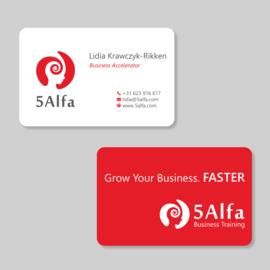 Visitekaartjes pakket - ontwerp en drukwerk