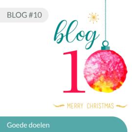 Blog #10 • Goede doelen