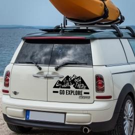 auto sticker • go explore