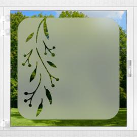 Raamfolie tegel • Botanisch • 1