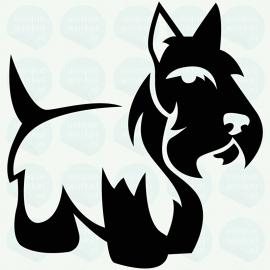 auto sticker • Schotse terrier