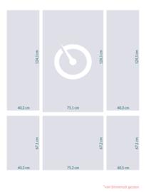 raamfolie op maat met logo • 6 stuks