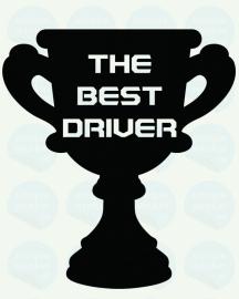 auto sticker • best driver 2
