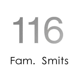 2stickers • Huisnummer 116