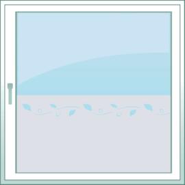 statische raamfolie  •  Chique bladeren