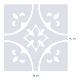 raamfolie op maat • 85 cm x 90 cm