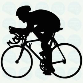 auto sticker • wielrennen