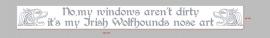 Irish Wolfhounds - 20 stickers