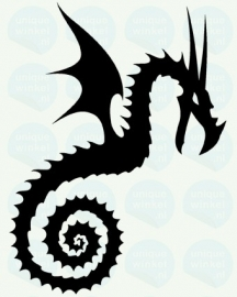 auto sticker • dragon 2