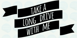 auto sticker • drive with me
