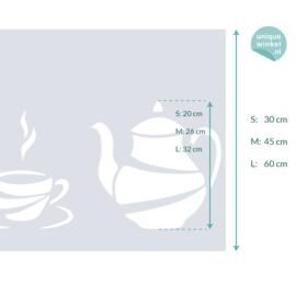 statische raamfolie  •  Coffee Time