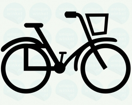 auto sticker • fiets