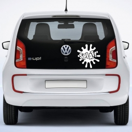 auto sticker • comics splat