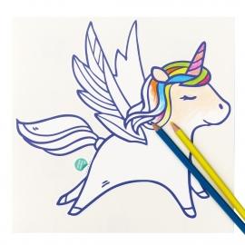 muursticker voor kinderen - paardje