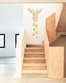houten wanddecoratie • Giraffe