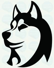 auto sticker • husky
