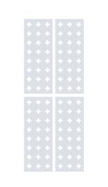 raamfolie op maat • Kruizen
