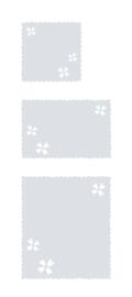 raamfolies op maat • Klavertje hartjes • 3 stuks