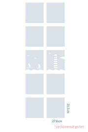 raamfolie op maat • Maritiem • 10 stuks