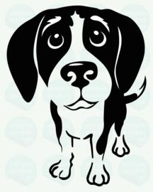 auto sticker • beagle