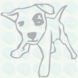 auto sticker • hond 2