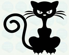 auto sticker • boze kat