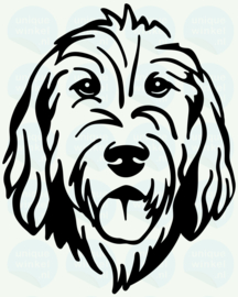 auto sticker • otterhound