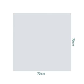 raamfolie zonder motief • 70 x 70 cm