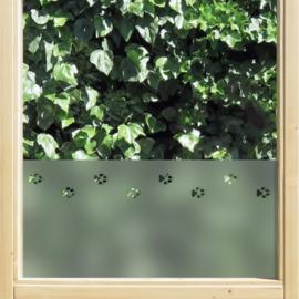 statische raamfolie  •  Kattenpootjes